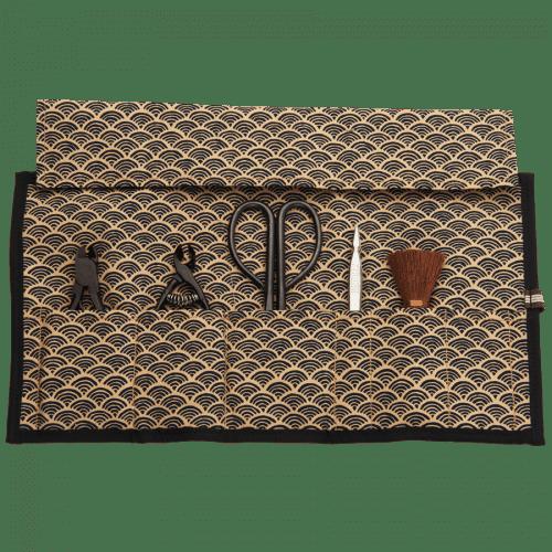 Bonsai tool kit in pouch
